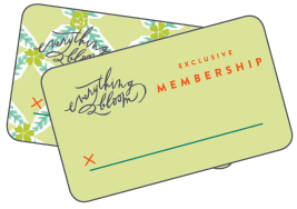 bloom memberships