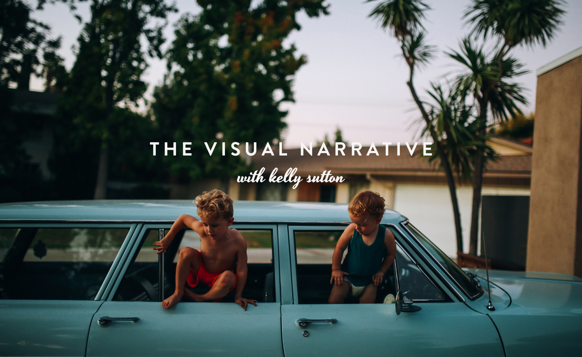 The Visual Narrative with Kelly Sutton