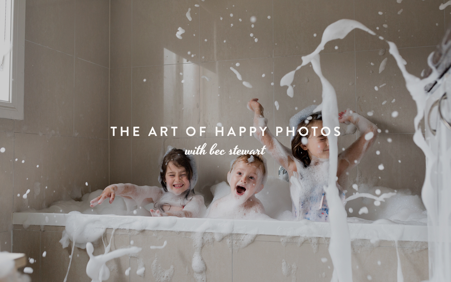The Art of Happy Photos with Bec Stewart