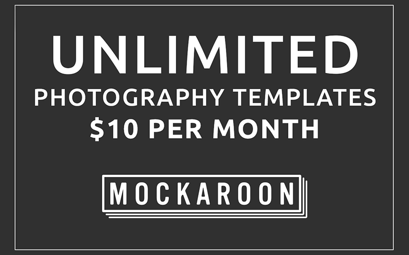 Mockaroon Photography Templates